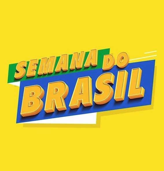 A Semana do Brasil ganha os jornais e sites de todo o país