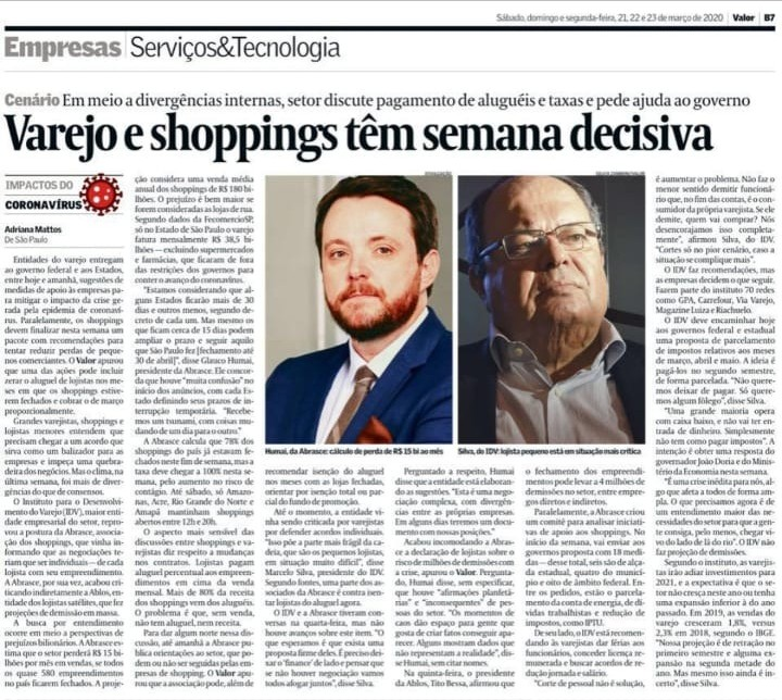 Varejo e shoppings têm semana decisiva
