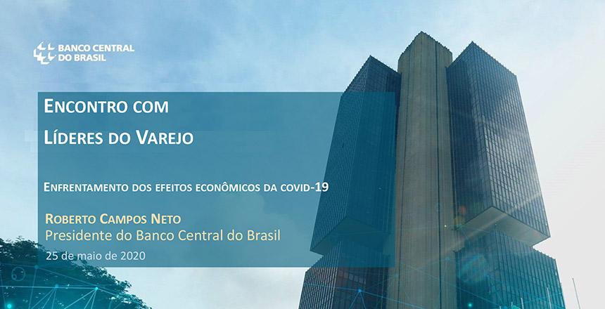 Os associados do IDV participaram de uma live com o presidente do Banco Central, Roberto Campos Neto