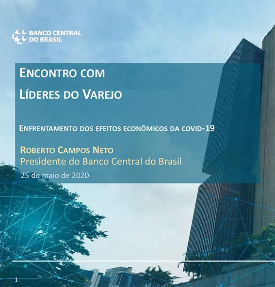 Associados do IDV participam de live com o presidente do Banco Central, Roberto Campos Neto