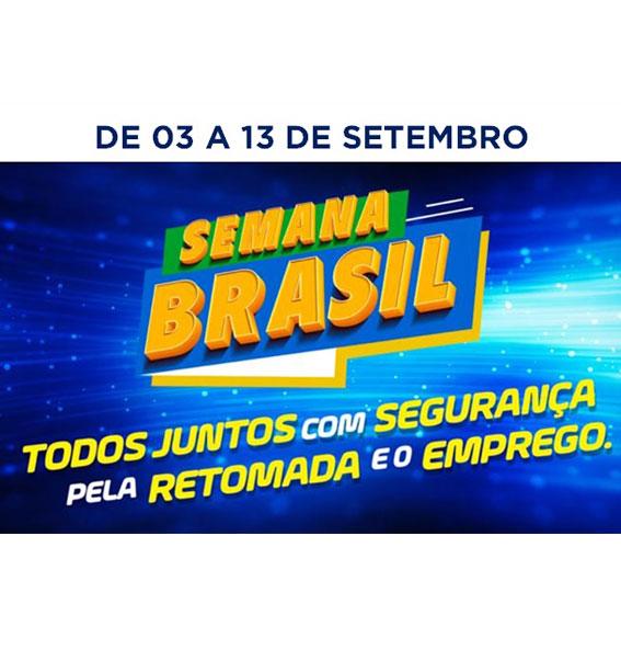 Semana Brasil estimula retomada segura da economia