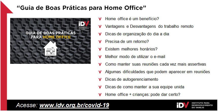 Acesse nosso Guia de Boas Práticas para Home Office