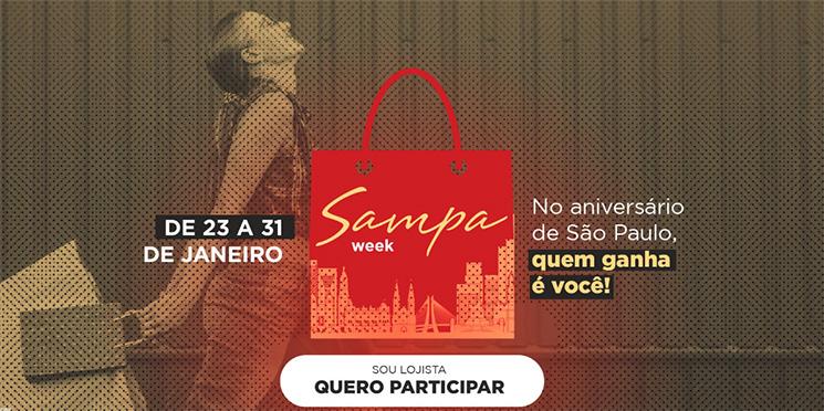 Começa a contagem regressiva para a Sampa Week 2021