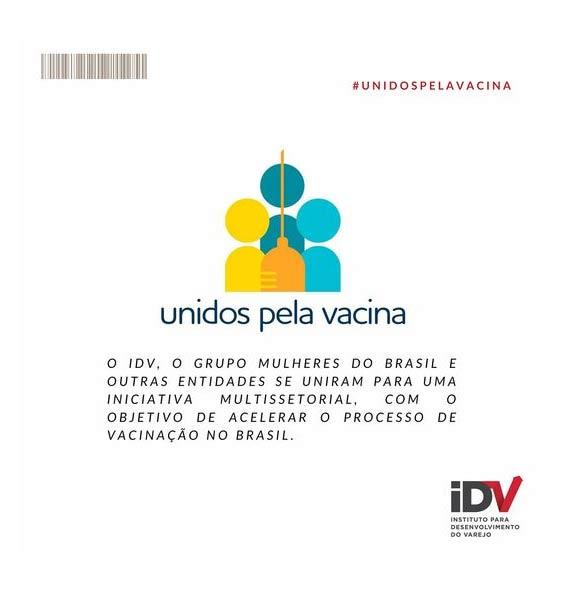 """Conheça o movimento """"Unidos pela Vacina"""""""