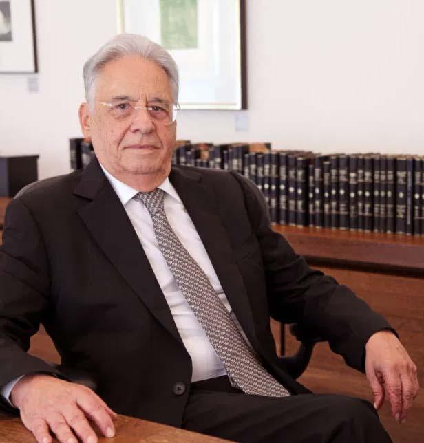 """""""Um bom líder é aquele que fala e ouve"""", diz ex-presidente FHC"""