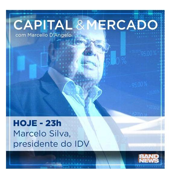 Assista à entrevista do presidente do IDV, Marcelo Silva