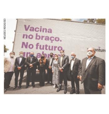Pernambuco recebe doação de equipamentos para imunização